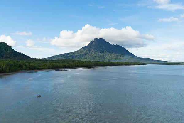 Mount Santubong In Sarawak Photograph by Shaifulzamri