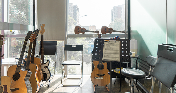 Music studio at home Photograph by Liyao Xie