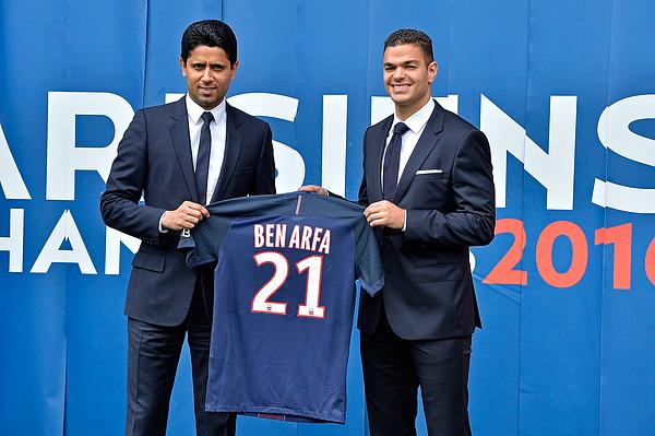 New Coach Of French L1 Football Club Paris Saint-Germain Unai Emery Gives A Press Conference In Paris Photograph by Aurelien Meunier