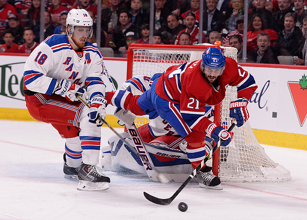 New York Rangers v Montreal Canadiens - Game Five Photograph by Richard Wolowicz