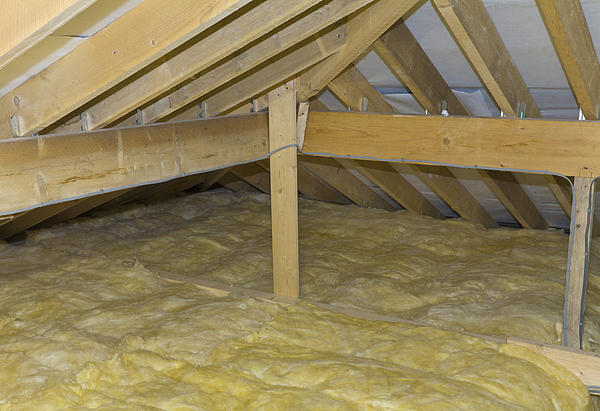Newly Insulated Loft Photograph by P A Thompson