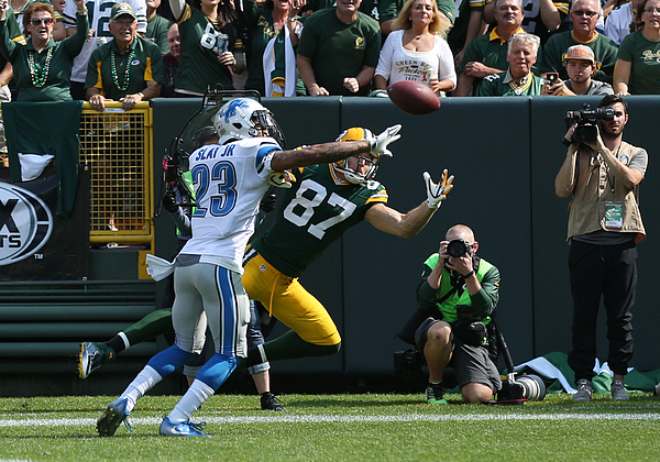 NFL: SEP 25 Lions at Packers Photograph by Icon Sportswire