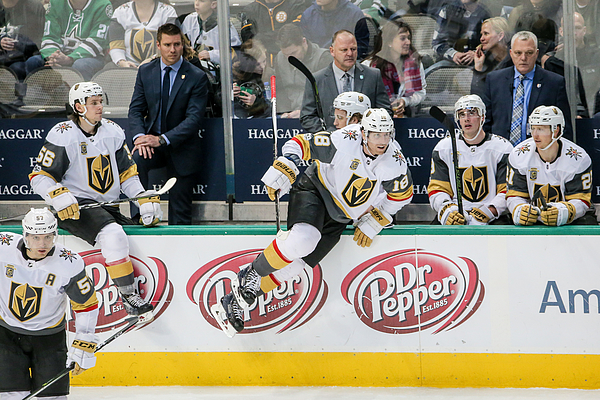 NHL: DEC 09 Golden Knights at Stars Photograph by Icon Sportswire