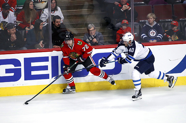 NHL: DEC 27 Jets at Blackhawks Photograph by Icon Sportswire
