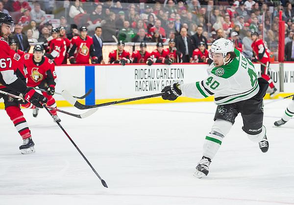NHL: MAR 16 Stars at Senators Photograph by Icon Sportswire
