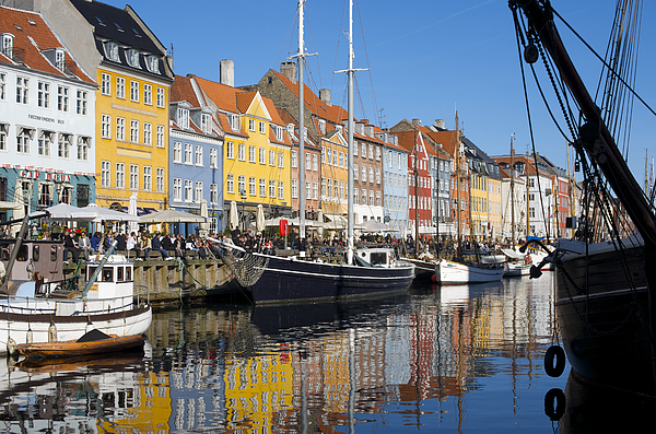 Nyhavn in Copenhagen Photograph by Keenpress