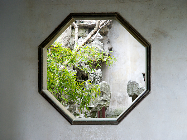 Octagonal window Photograph by Photo by Anneli Torgersen