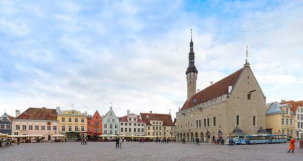 Old Town Hall Of Tallinn, Estonia Photograph by Syolacan