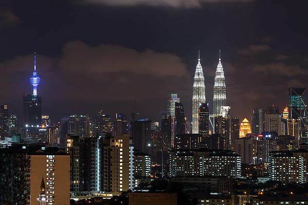 One Night In Kuala Lumpur Photograph by Shaifulzamri