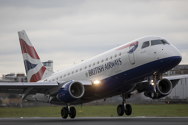 Operations At London City Airport Photograph by Bloomberg