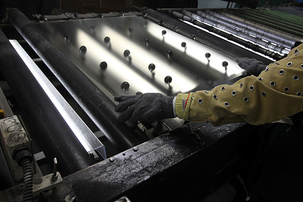 Operations At Tru Vue Glass Coating and Glazing Factory Photograph by Bloomberg