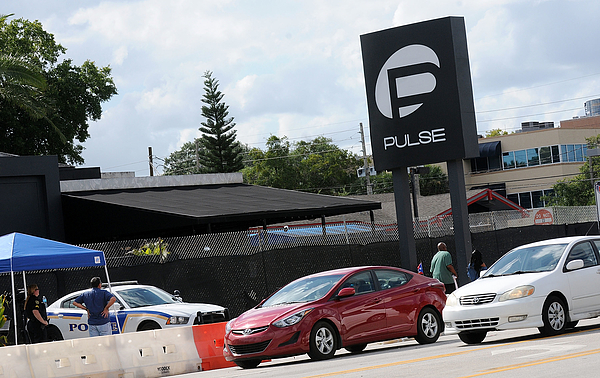 Orlando Community Continues To Mourn Deadly Mass Shooting At Gay Club Pulse Photograph by Gerardo Mora