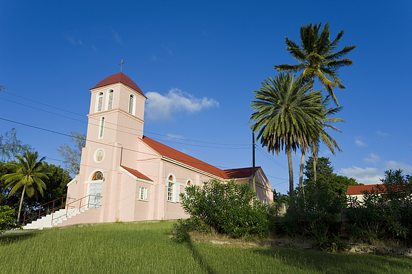 Our Lady of Perpetual Help Catholic Church, Antigua, Leeward Islands, West Indies, Caribbean, Central America Photograph by Gavin Hellier / robertharding