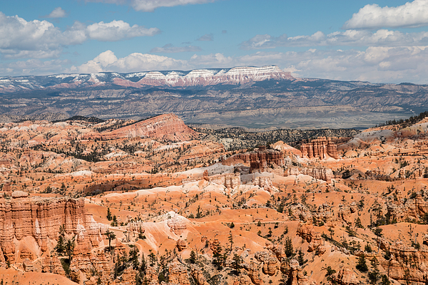 Overlooking Bryce Canyon Towards Aquarius Plateau Photograph by Raphael Schneider