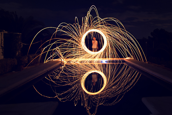 Painting with light Photograph by PacosRulz