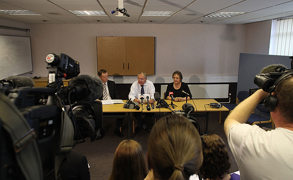 Parents of Melanie Hall Appeal For Information One Year On From The Discovery of Daughters Remains Photograph by Matt Cardy