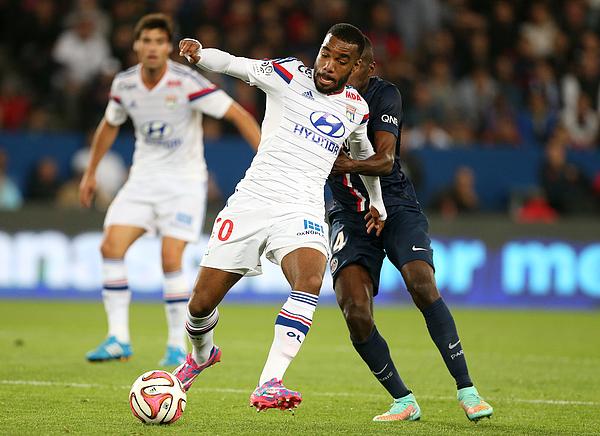 Paris Saint-Germain FC v Olympique Lyonnais - Ligue 1 Photograph by Jean Catuffe