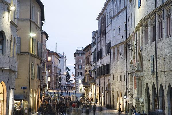 Perugia, Umbria, Italy, Europe Photograph by Angelo Cavalli / robertharding