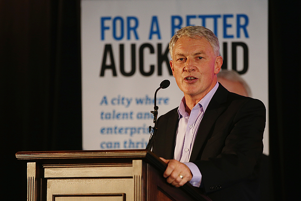 Phil Goff Media Announcement Photograph by Hannah Peters