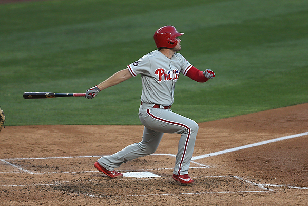 Philadelphia Phillies V Los Angeles Dodgers Photograph by Stephen Dunn