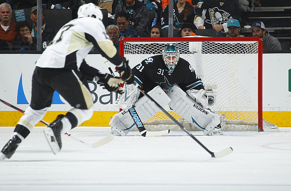 Pittsburgh Penguins v San Jose Sharks Photograph by Rocky W. Widner
