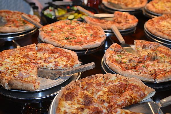 Pizza Buffet Photograph by Kortemeyer