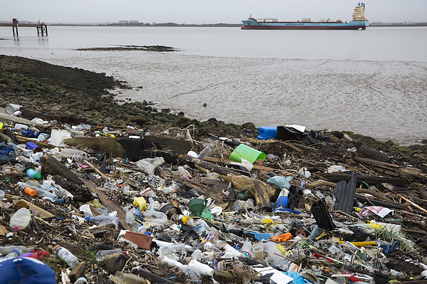Plastic Pollution Is Choking The Worlds Oceans Photograph by Dan Kitwood