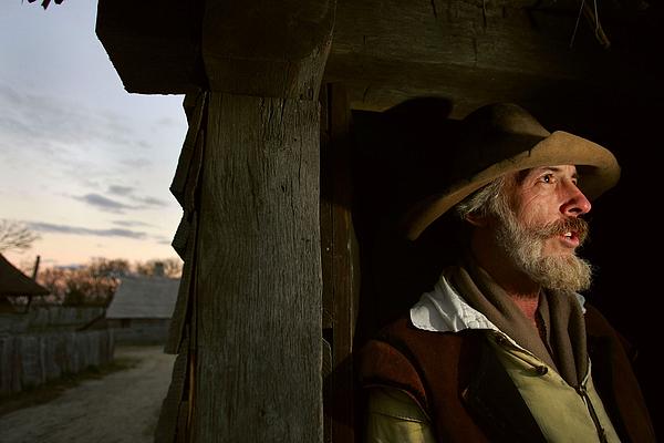 Plimoth Plantation Recreates World Of The Pilgrims Photograph by Joe Raedle