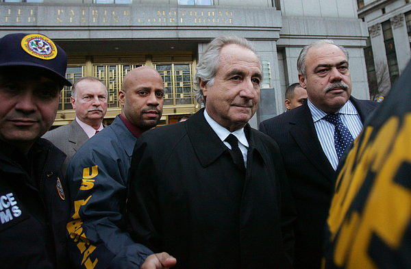 Ponzi Scheme Investor Madoff Appears In Federal Court Photograph by Hiroko Masuike