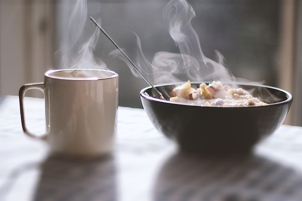 Porridge Breakfast Photograph by Gregoria Gregoriou Crowe fine art and creative photography.