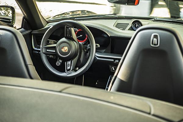 Porsche 911 Carrera S Cabriolet Sports Car Interior Photograph by Sjo
