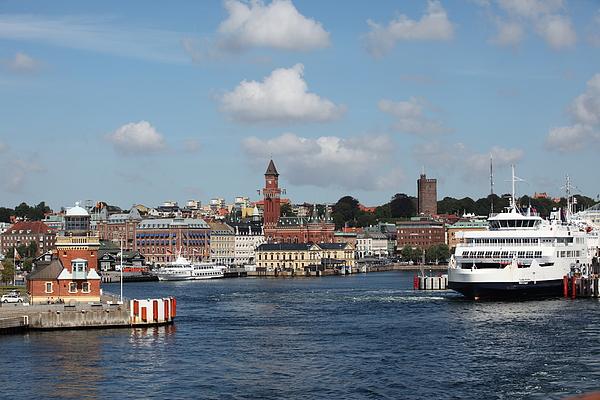 Port of Helsingborg Photograph by Pejft