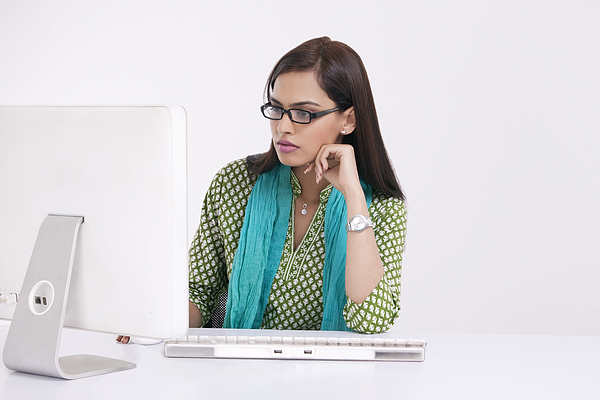 Portrait of a corporate woman Photograph by Sudipta Halder