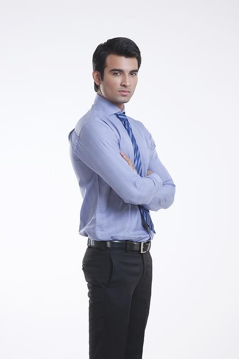 Portrait of a male executive Photograph by Sudipta Halder