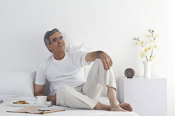 Portrait of a man relaxing Photograph by Sudipta Halder