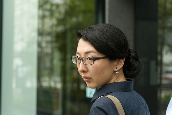 Portrait of a Professional Japanese Woman Working in an Office Photograph by Boogich
