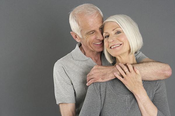 Portrait of a senior couple Photograph by Stock4b-rf