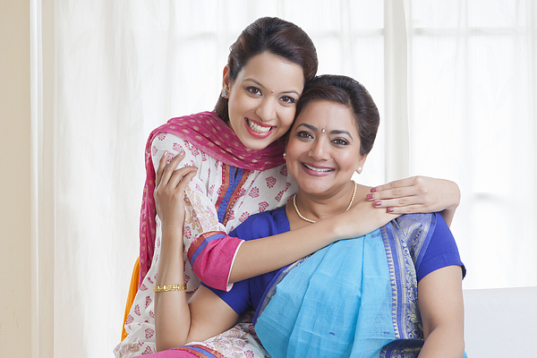 Portrait of mother and daughter Photograph by Ravi Ranjan