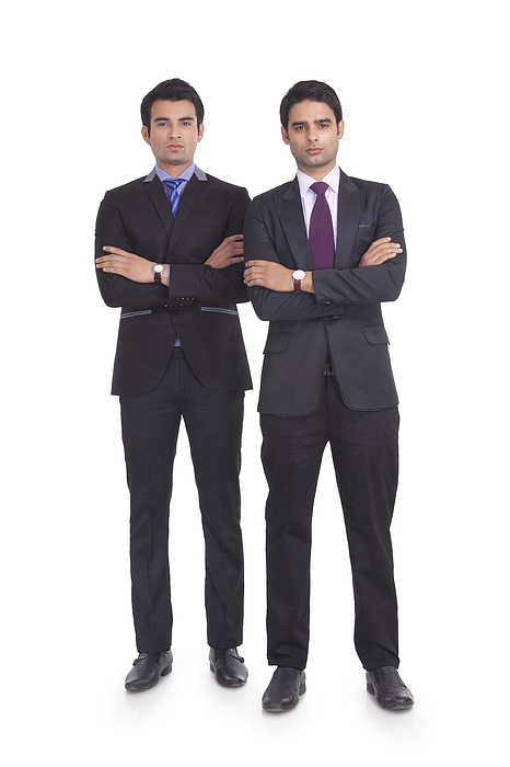 Portrait of two businessmen Photograph by Sudipta Halder