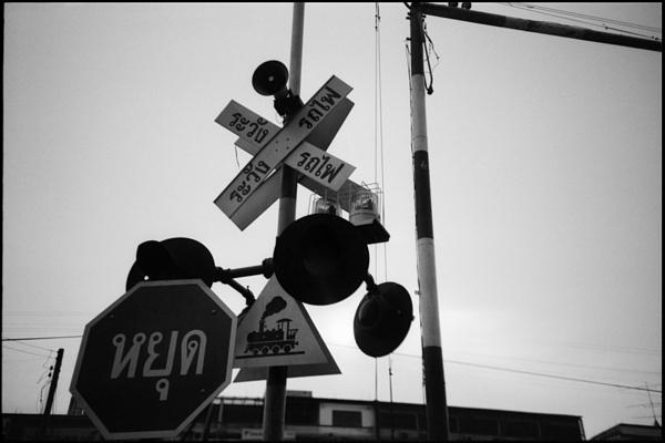 Railway Signs On Pole Against Clear Sky Photograph by Willie Schumann / EyeEm
