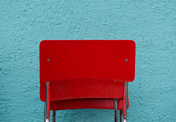 Red Chairs Photograph by Christian Beirle González