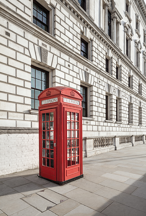Red telephone box Photograph by Jorg Greuel