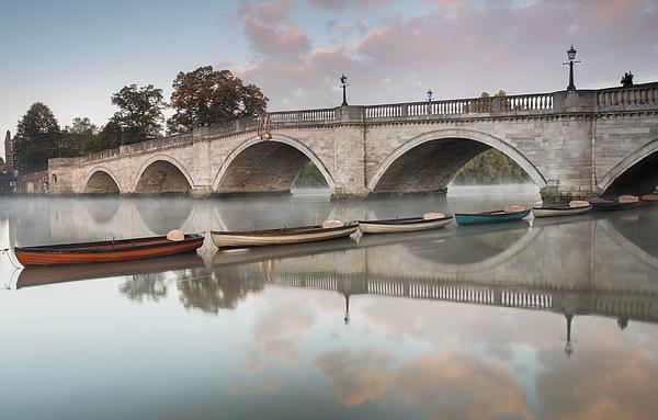 Richmond bridge at sunrise. Photograph by Alex Saberi