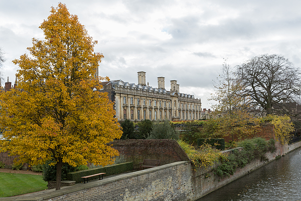 River Cam In Cambridge England City Scene Photograph by Mikeuk