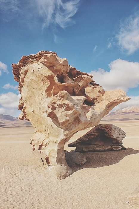 Rock Formation On Desert Photograph by Nadim Salous / EyeEm