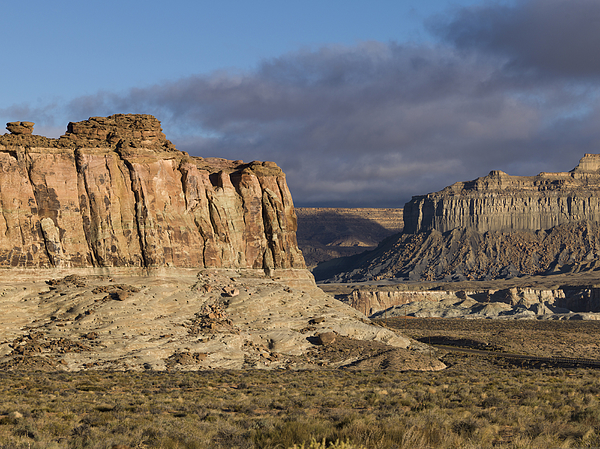 Rock formations on a landscape Photograph by Fotosearch