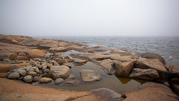 Rocks In Sea Photograph by Paulien Tabak / EyeEm