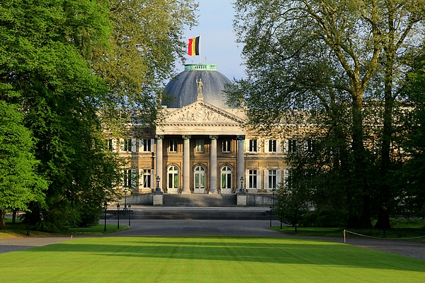 Royal palace of Laeken (Brussels) Photograph by Frans Sellies