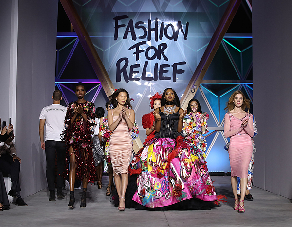 Runway - Fashion For Relief Cannes 2018 Photograph by Mike Marsland
