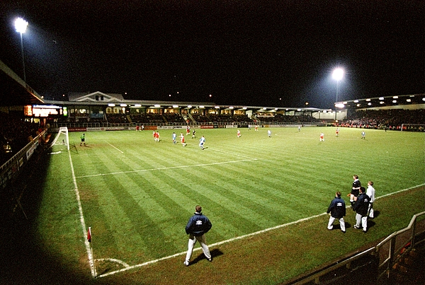 Rushden v Doncaster general view Photograph by Shaun Botterill